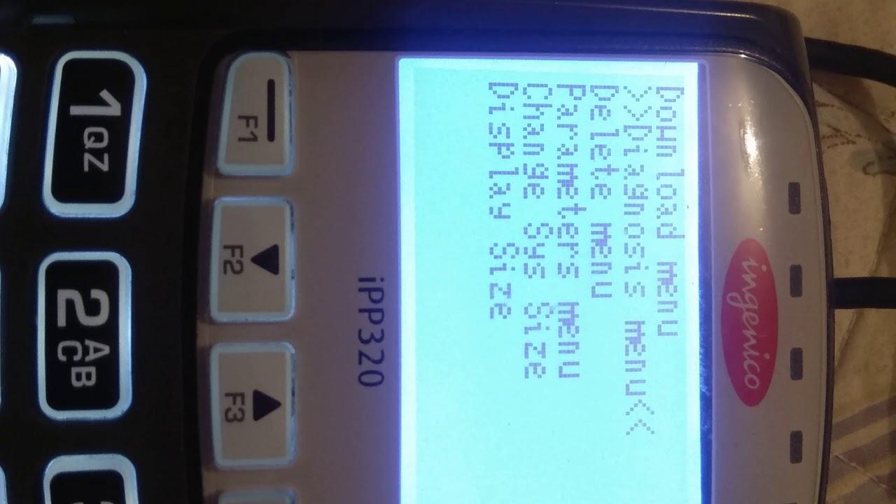 Configuración y Reset de Pinpad Ingenico iPP320