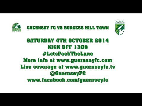 Guernsey FC vs Burgess Hill Town