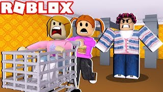 Roblox Escape The Grocery Store! - 2 Player!