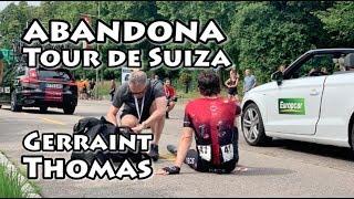Gerraint Thomas abandona el Tour de Suiza -Etapa 4