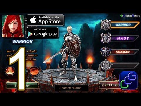 Arcane Online - New Fantasy MMORPG Android iOS Walkthrough - Gameplay Part 1