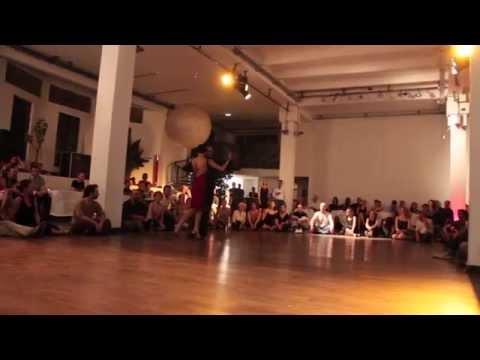 Maria Filali y John Zabala (Tango, La vi llegar - Osvaldo Pugliese) Paris