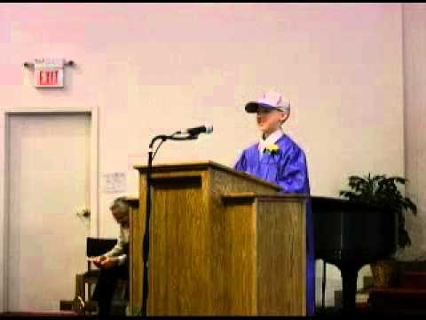 Holden Christian Academy Valedictory Speech 2010