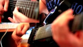 MESHUGGAH - Corridor of Chameleons (Guitar Cover)