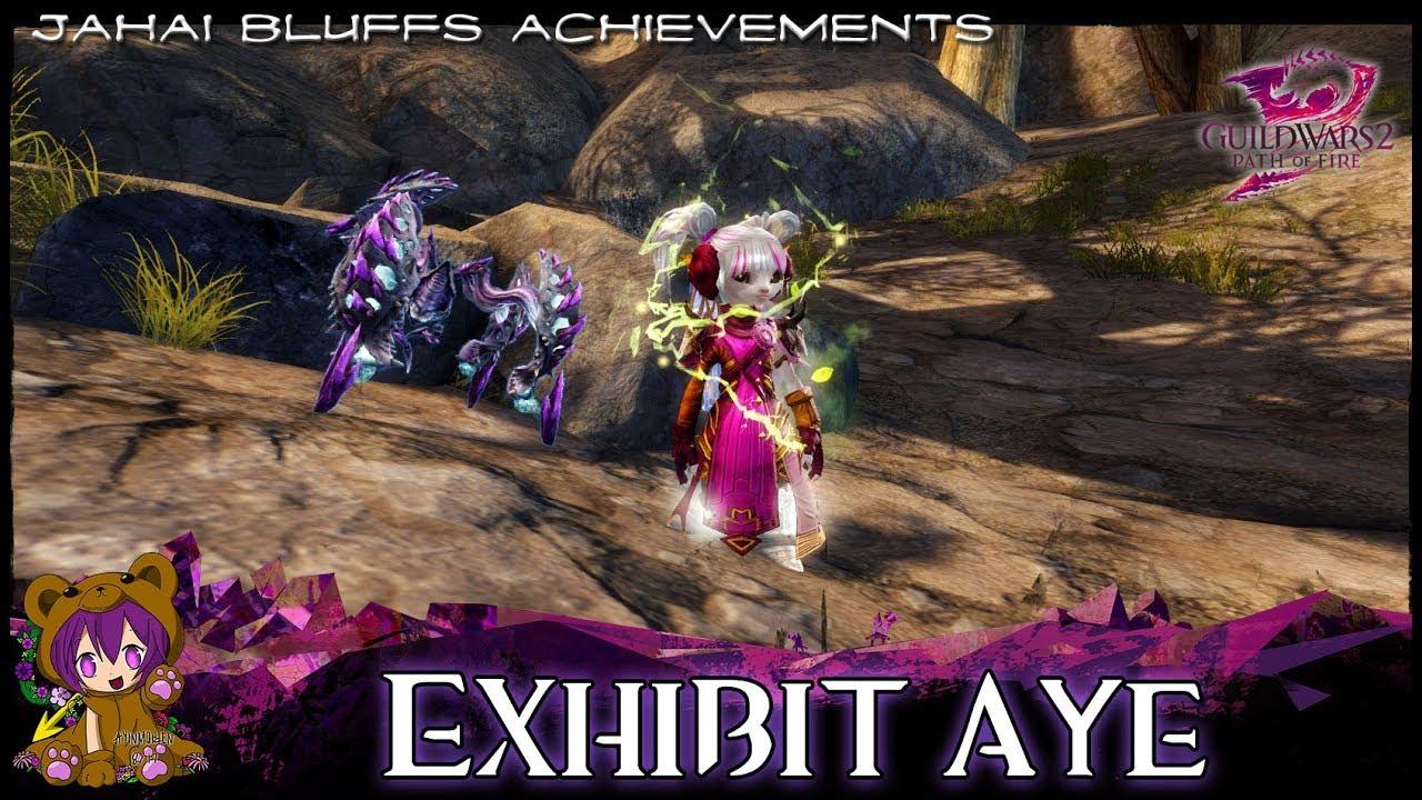 GW2 Jahai Bluffs achievements - AyinMaiden