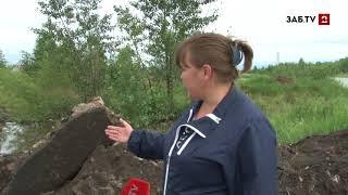Жители поселка Заречный боятся, что река уничтожит последние уцелевшие дома