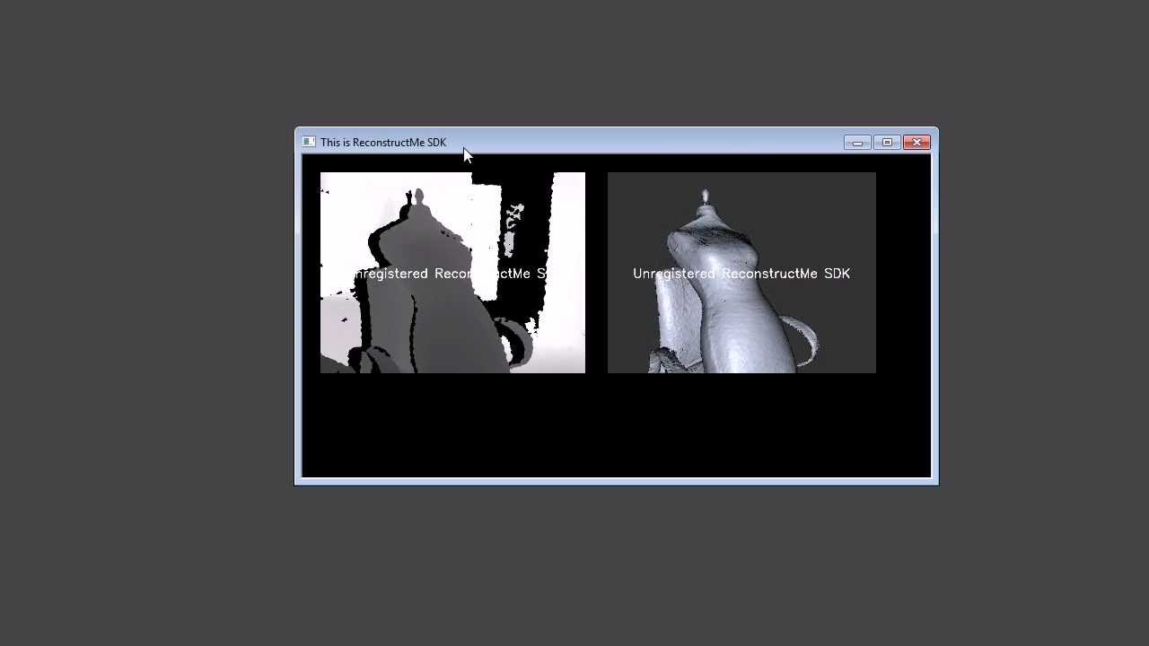 ReconstructMe SDK is a real time 3D reconstruction tool | Kinect Hacks