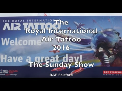 Royal International Air Tattoo (RIAT) 2016 - Sunday FULL (Part 1 of 2)