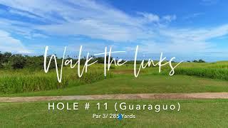 Walk the Links at Royal Isabela /Hole # 11 (Guaraguao)Par 3 / 285 yards