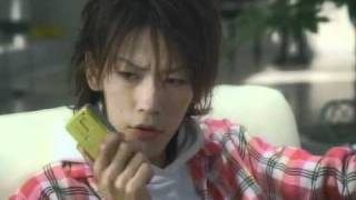 (CM) Kamenashi Kazuya - NTT DoCoMo FOMA 902i.