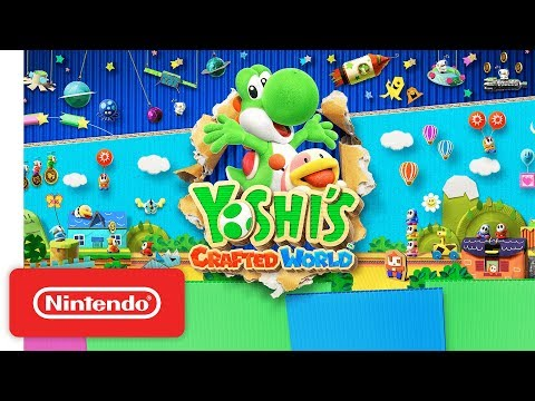 Yoshi's Crafted World - Story Trailer - Nintendo Switch