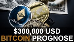 BITCOIN $300,000 USD PROGNOSE