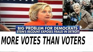 More Votes Than Voters in Detroit as Jill Stein's Recount