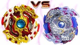 SPRIGGAN REQUIEM vs NIGHTMARE LONGINUS | Beyblade Burst Battle ベイブレードバースト