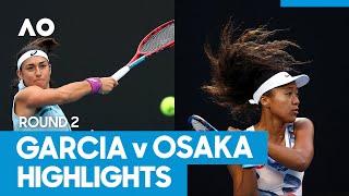 Caroline Garcia vs Naomi Osaka Match Highlights (2R) | Australian Open 2021