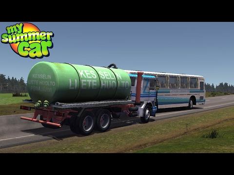 My Summer Car - KILLING THE BUS DRIVER |