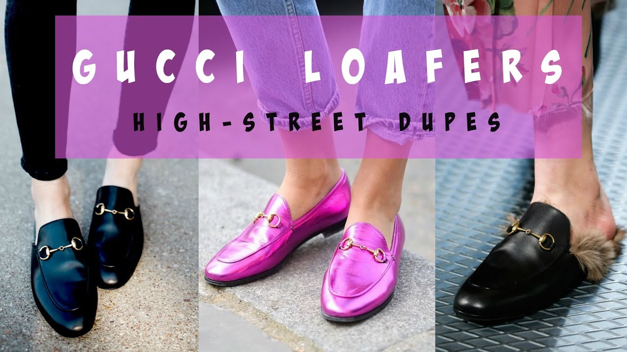 652cf342e1f Best High-Street Gucci Loafer Dupes