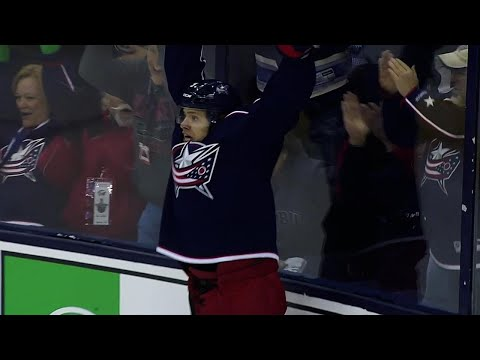 Panarin ties game after finishing off furious rush with Atkinson