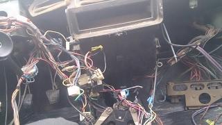видео Электросхема ВАЗ 21099 карбюратор высокая панель