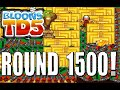 [BTD5 Steam]New Highest Round! ROUND 1500!