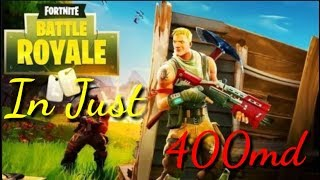Fortnite Mobile - Download Fortnite On Any Android || Highly Compressed [400md]