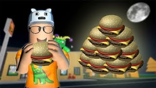 ROBLOX: THE OLD MAN'S BURGER FACTORY! -Play Old man