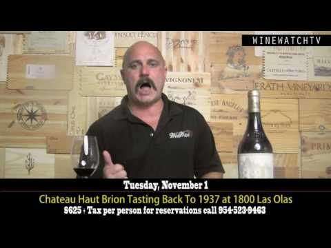 Chateau Haut Brion Tasting Back To 1937 - click image for video