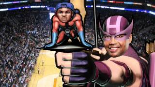 (Hawkeye + Space Jam) I Make Any Slam Better - Quad City DJs vs Hideyuki Fukasawa