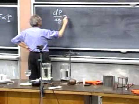 MIT Professor Walter Lewi's Physics 801 Lecture 33