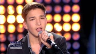 """Finale V NICLO - Arthur interprète """"Je suis un homme"""" de Zazie - le 18 avril 2014 sur Gulli"""