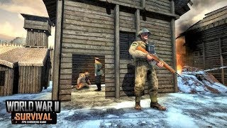 World War II Survival: FPS Shooting Game Android Gameplay