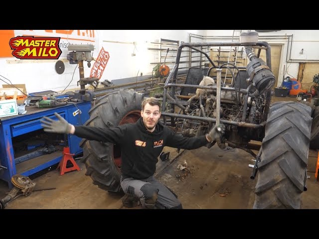 Monster buggy rear suspension