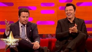Mark Wahlberg and Seth MacFarlane Censorship Gone Horribly Wrong - The Graham Norton Show thumbnail