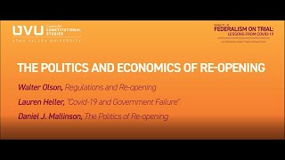 The Politics and Economics of Re-Opening