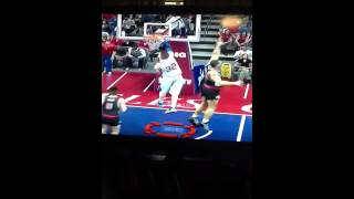 2k13 Blake griffin wind meal dunk