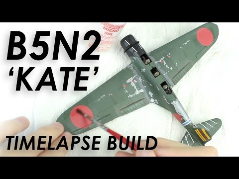 Airfix B5N2 Kate Build & Review - 1:72 Scale Model
