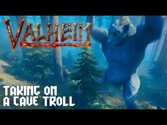 Valheim - They have a Cave Troll! (Solo Gameplay) [Live Stream]