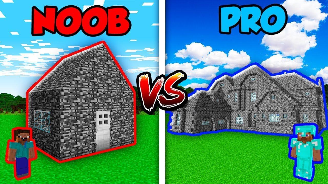 Minecraft NOOB vs. PRO: MODERN BEDROCK HOUSE in Minecraft! AVM Shorts Animation
