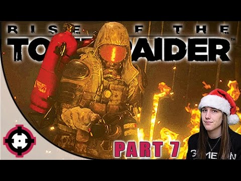 Rise of the Tomb Raider Gameplay // Part 7 - Flamethrower Man!