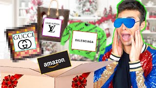 SHOPPING BENDATO DI NATALE: GUCCI, VUITTON E BALENCIAGA *COSTOSO* | GIANMARCO ZAGATO