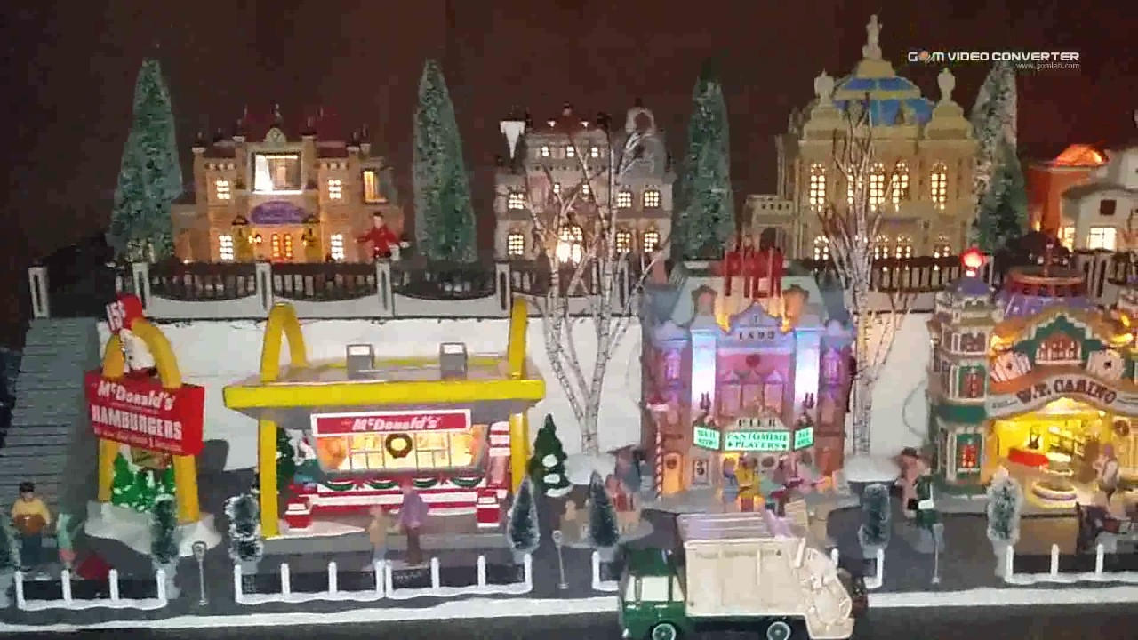 2015 lemaxdept 56 christmas village display part 3