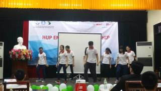 Flashmob Waka Waka + Better When I'm Dancin' [Học viện Quân Y - English Championship 2016]