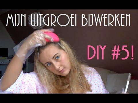 Do It Yourself Mijn Blonde Haar Verven Uitgroei Bijwerken