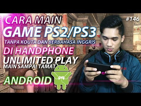 Cara Bermain GAME PS2 dan PS3 di Handphone / ANDROID | Tutorial Android #146