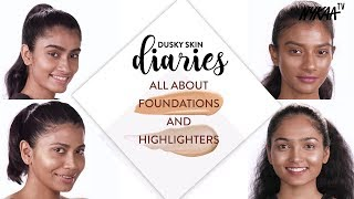 Must Have Foundations & Highlighters | Dusky Diaries Ft. Debasree Banerjee | Nykaa