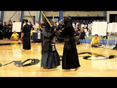 Kendo 2017 Nikkei Games Kachinuki Mixed Team Division: Match 10