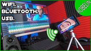 Usar celular como microfono video clip