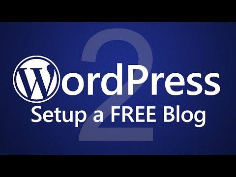WordPress for Beginners - Create a FREE Blog! ◄