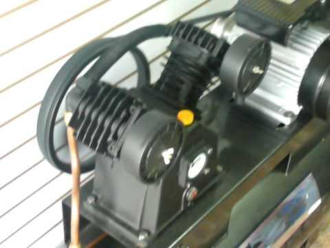 2hp Compresor De Aire Industrial 2 Hp Tanque 108l
