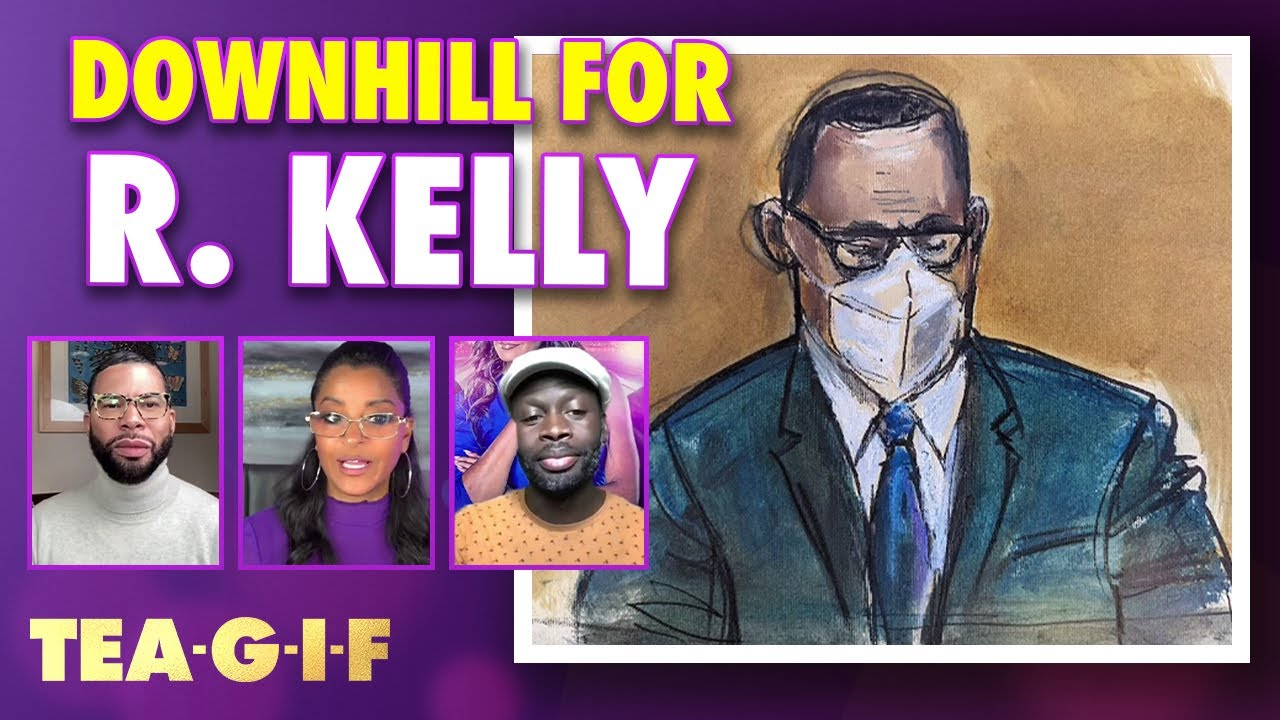 R. Kelly is put on Suicide Watch!? | Tea-G-I-F